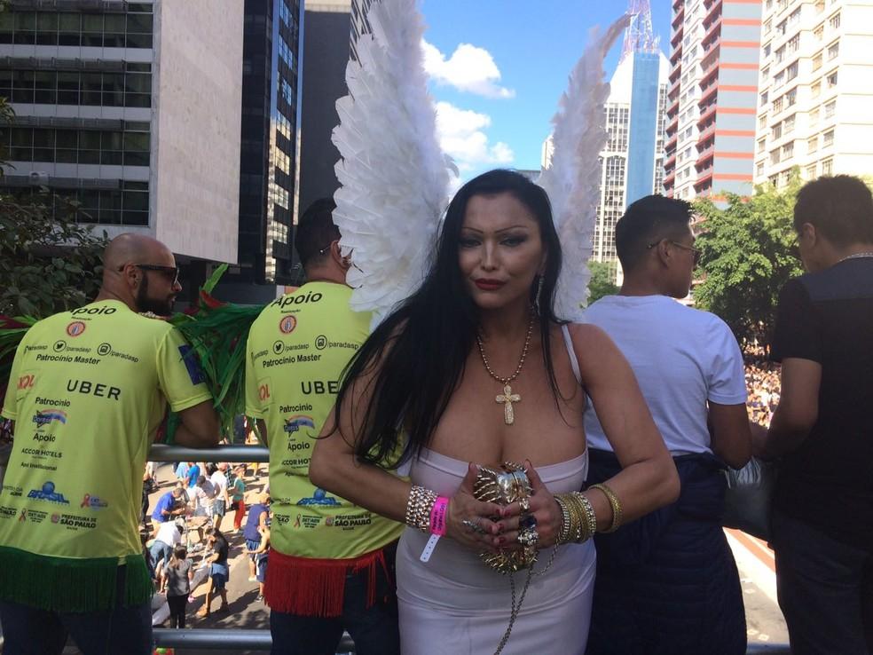Bruna Mastroiani participa representando