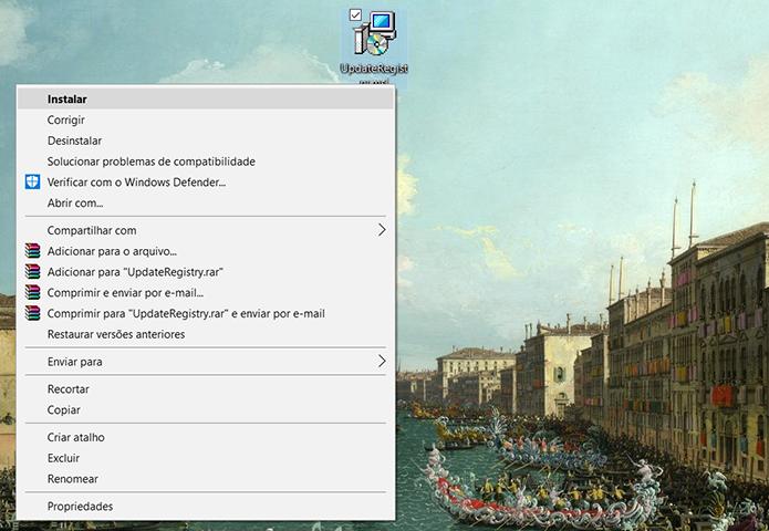 Quando o download terminar, execute o arquivo (Foto: Reprodução/Filipe Garrett)