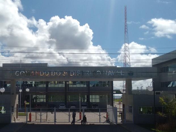 Comando do 3º Distrito Naval inaugura nova sede nesta quarta (25) (Foto: Divulgação/Assssoria)