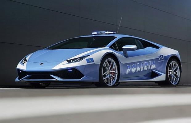 Lamborghini Huracán será o novo carro da polícia italiana
