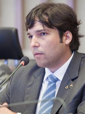 O depudato Robério Negreiros (PSDB) em sessão na Câmara Legislativa (Foto: Câmara Legislativa/Divulgação)