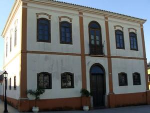Casa da Cultura em Piedade, SP (Foto: Fernanda Costa)