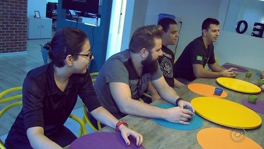 Empresas da região criam espaços de lazer para estimular criatividade da equipe