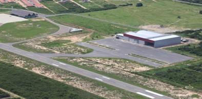 Aeroporto de Aracati (Foto: DER/Divulgação)