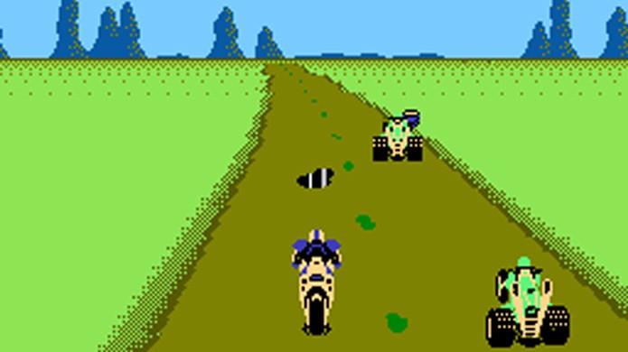 Mach Rider era um jogo bem diferente do padrão Nintendo da época (Foto: HeadcaseGames)