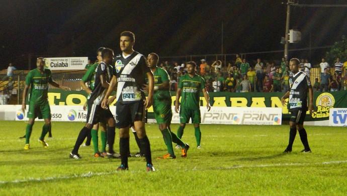 Cuiabá e Mixto pelas quartas de final do Mato-grossense 2014 (Foto: Assessoria/Cuiabá Esporte Clube)
