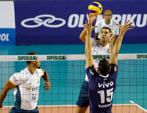 Volei - Minas x RJX (Foto: Washington Alves/inovafoto)