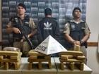 Homem preso com 30 kg de maconha buscou droga no Paraguai, diz PM