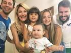 Antônia Fontenelle festeja seis meses de Salvatore sem Jonathan Costa