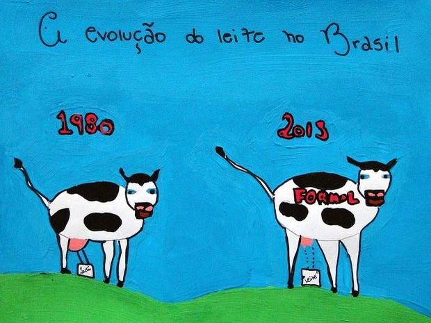 Salãozinho de Humor de Piracicaba - menção honrosa 11 a 14 anos - Maria Eduarda Sarrido (Foto: Reprodução)