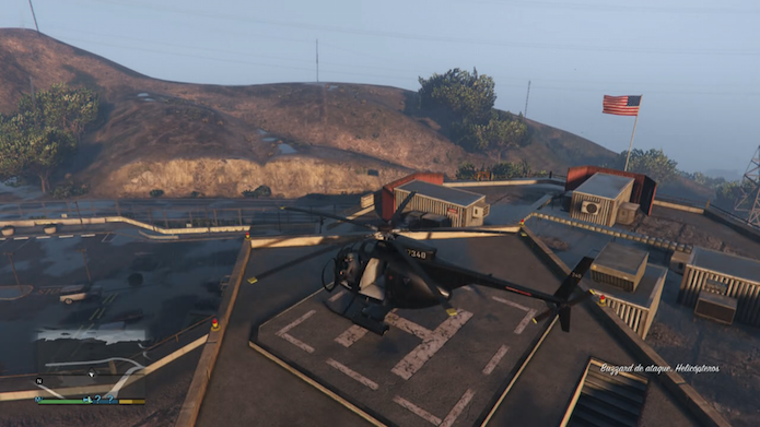 GTA V: confira os melhores locais para encontrar helicópteros e aviões no game (Foto: Reprodução/Murilo Molina)