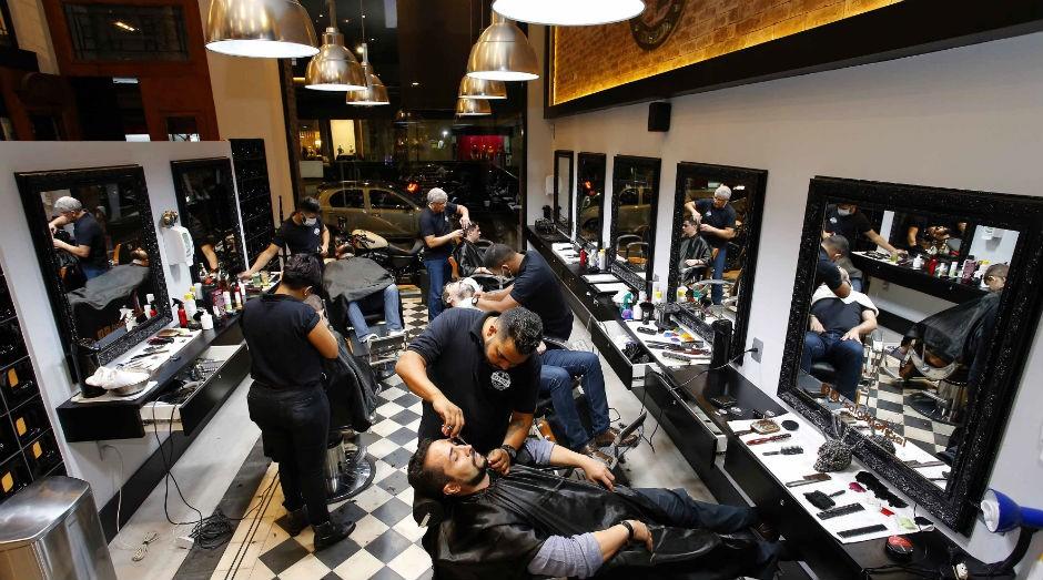 Barbearia: mudança para agradar público masculino (Foto: ASN/Moraes Neto)