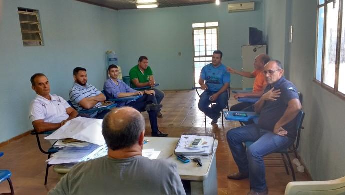 Reunião define adiamento do Roraimense (Foto: Bruno Willemon)
