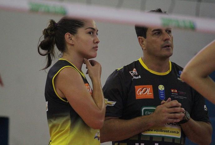 Jordane e Rogério Portela Rio do Sul (Foto: Clóvis Eduardo Cuco/Divulgação)