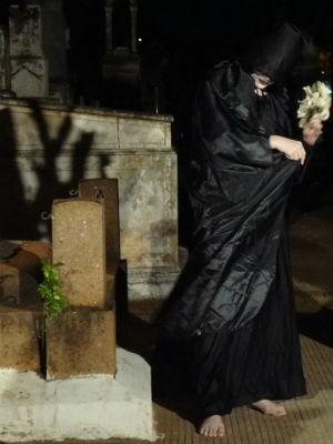 Passeios no cemitério são realizados desde 2010 (Foto: Júlio Polli/Arquivo Pessoal)