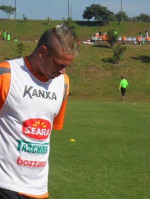 Fabio Ferreira zagueiro Criciúma (Foto: João Lucas Cardoso)