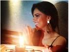 Recém-solteira, Mariana Rios comemora aniversário com amigas