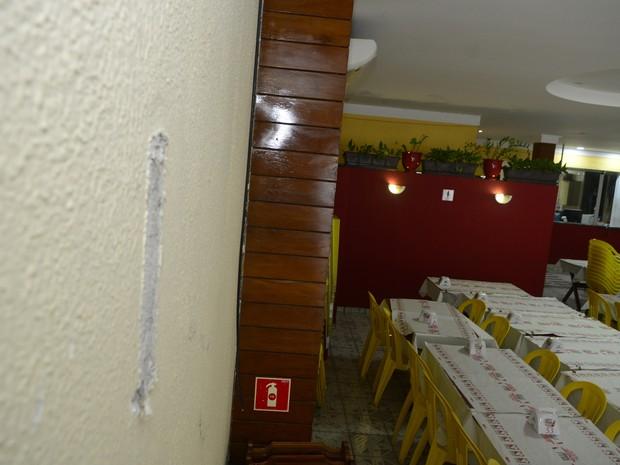 Restaurante foi arrombado três vezes em 45 dias (Foto: Leitor A Gazeta)