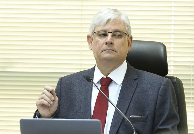 O procurador-geral da República, Rodrigo Janot, durante reunião do Conselho Superior do Ministério Público Federal (MPF) (Foto: Marcelo Camargo/Agência Brasil)