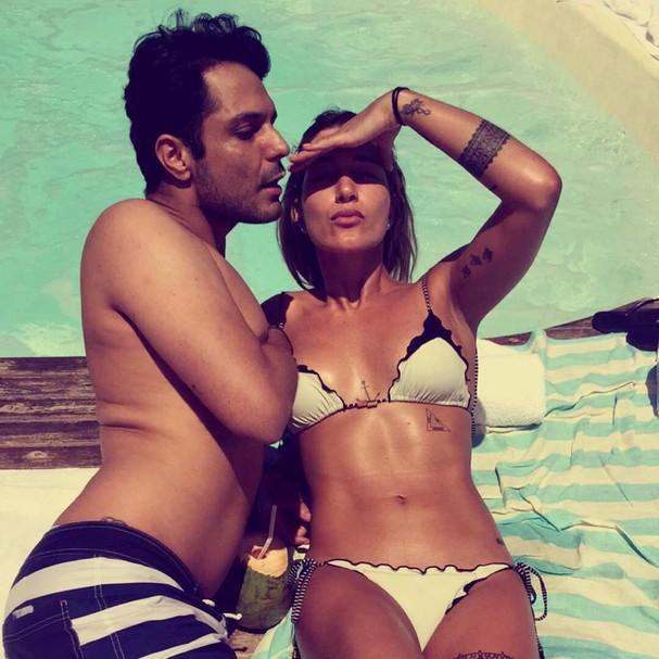 Ainda terei o corpo da minha musa Gabriela Pugliesi, disse  (Foto: Reprodução/ Instagram)