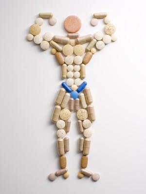 homem pilulas eu atleta (Foto: Getty Images)