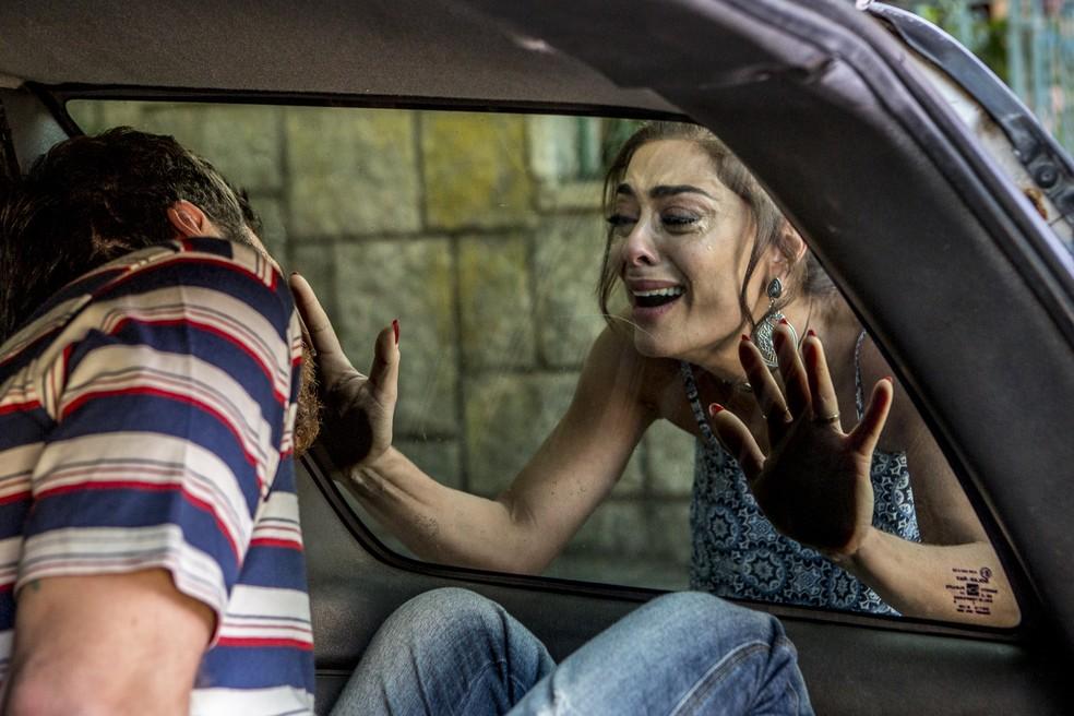 E Bibi fica desesperada 😭 (Foto: Fábio Rocha / Gshow)