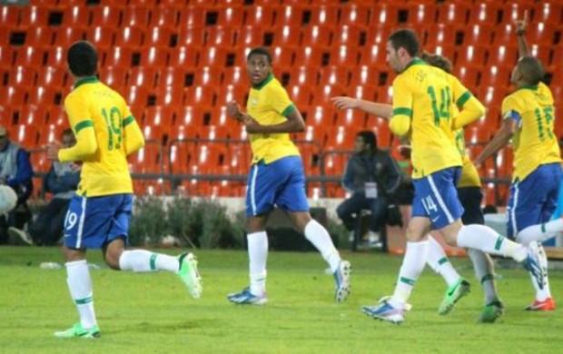Thiago Maia, co ma 19, estreou bem na Seleção Brasilera Sub-17 (Foto: Assessoria CBF)