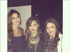 Bruna Marquezine posta foto e tieta Demi Lovato: 'Você é maravilhosa'