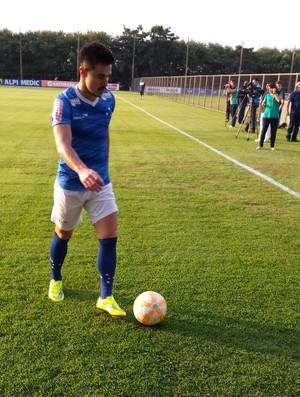 Willian, atacante do Cruzeiro (Foto: Marco Antônio Astoni)