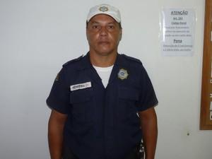 O guarda municipal Roberto Ferreira foi morto pela polícia em Búzios (Foto: Arquivo Pessoal)