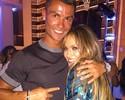 Cristiano Ronaldo curte show da aniversariante Jennifer Lopez em Vegas