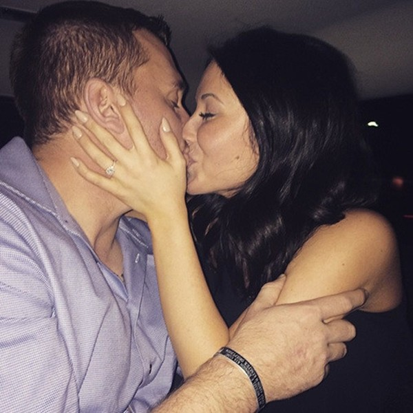 Bristol Palin e o noivo Dakota Meyer (Foto: Instagram)