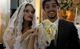 Juliana Paiva e Rodrigo Simas gravam o casamento oficial do casal #Brutinha