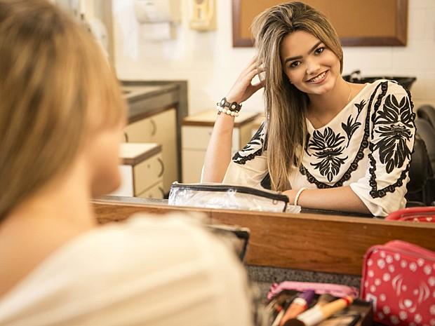 Suzanna Freitas pensa em ser atriz ou trabalhar com moda (Foto: Inácio Moraes / Gshow)