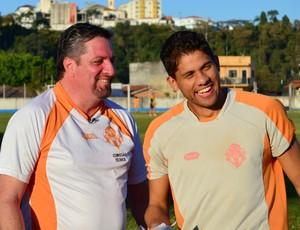 O treinador motivacional, Olimar Tesser (Foto: Danilo Sardinha/Globoesporte.com)