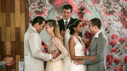 Final 'Pro Dia Nascer Feliz': Bárbara se casa com Gabriel em uma festa emocionante