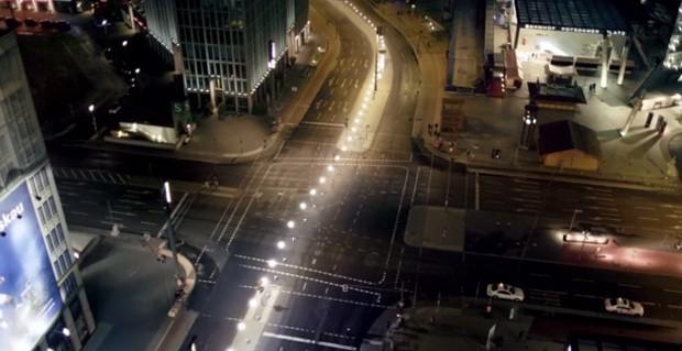 No dia 7 de novembro, novas gerações poderão sentir como Berlim era ao estar dividida (Foto: Reprodução Vimeo)