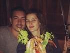 Di Ferrero tem noite romântica com Isabelli Fontana nos Estados Unidos