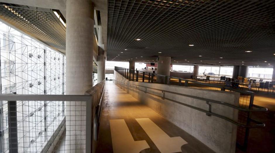 Interior do novo Sesc (Foto: Estadão Conteúdo)