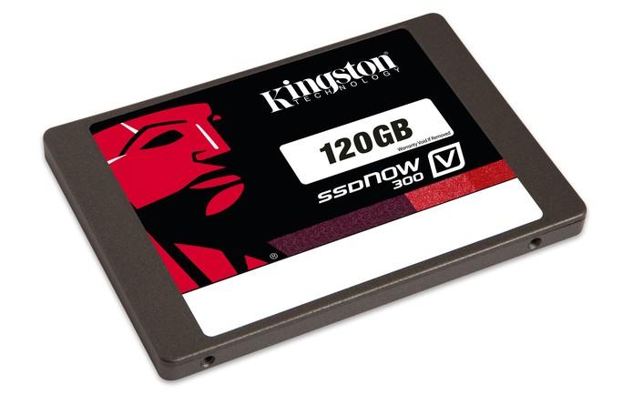 SSD V300 da Kingston entrou em promoção com duas versões: 120 e 240 GB (Foto: Divulgação/Kingston)