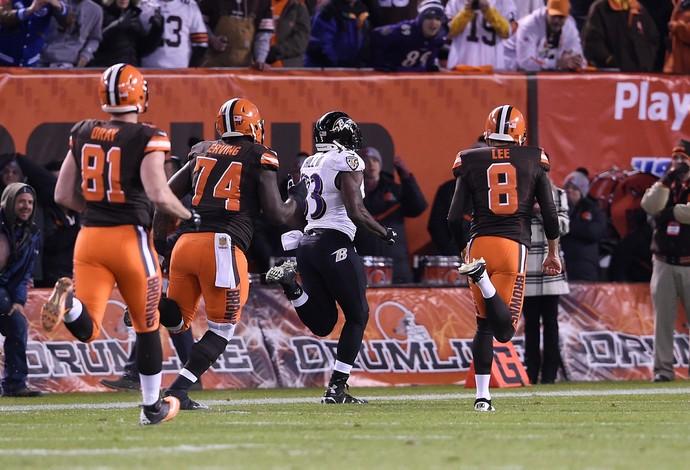 Ravens vencem partida com jogada incrível (Foto: Jason Miller / Getty Images Sport)