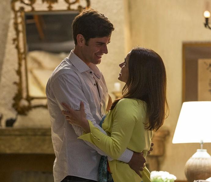 'Quero que ela seja inesquecível', diz Felipe sobre a primeira noite com Shirlei (Foto: Ellen Soares/Gshow)