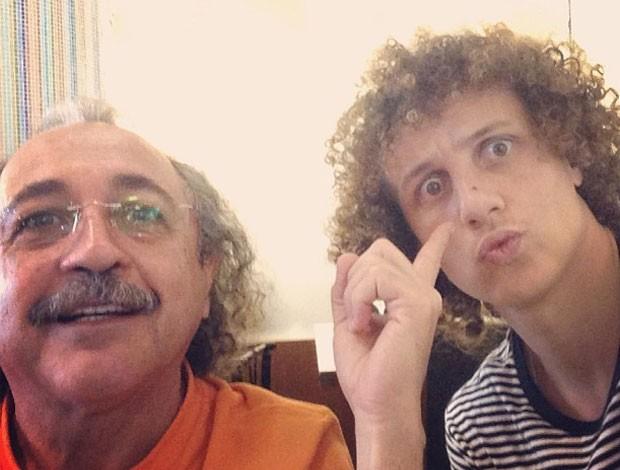 David Luiz e médico (Foto: Reprodução/Instagram)
