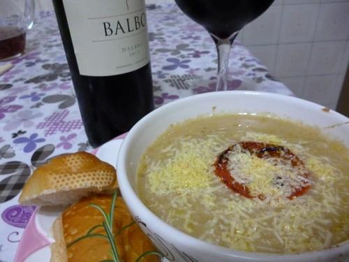 Sopa de Cebola Famosa