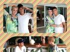 Xuxa entrevista o jogador Neymar e posta foto em rede social