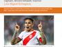 """Jornal inglês exalta Guerrero: """"Se não fosse peruano, poderia estar no Barça"""""""