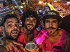 Caio Castro escolhe Santa Catarina para passar Carnaval e curte muito