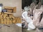 Com 1 tonelada de drogas, polícia faz apreensão histórica em Mossoró, RN