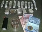 Homem é preso com porções de maconha e dinheiro do tráfico em SP