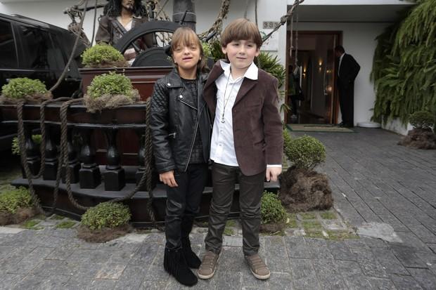 Rafa Justus e Pietro (Foto: Rafael Cusato/Brazil News)